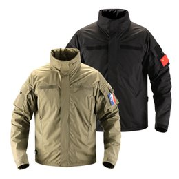 Waterproof Military Jacket UK - Men Soft Shell Combat Army Clothes Assaul City Tactical Waterproof Military Jacket Casual Spring Windbreaker Windproof Jackets