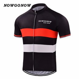 ed0f96571 custom Man 2017 cycling jersey clothing bike red wear team red black tops  pro rider mountain road outdoor sport NOWGONOW custom cool china