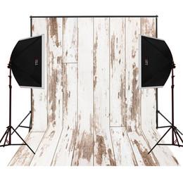 Digital Backdrops Canada - dusty beige wood photo background for baby newborn studio props camera fotografica digital cloth vinyl photography backdrops