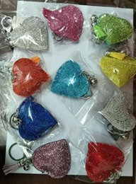 Keys Jewels Canada - Keychains Key Buckle Heart Fashion Accessories Gifts Colorful Leather Tassels Pendant Korean Faux Jewels Key Rings