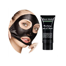 Barato Casca De Poro De Limpeza Profunda-SHILLS Deep Cleansing Black Mask Pore Cleaner 50ml Purifying Peel-off Mask Blackhead Facials Face Mask DHL Shipping PK ONE1X