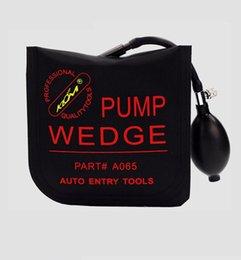 KLOM bomba cunha saco de ar automático de condução fechadura da porta abridor preto S / M / L / U 4 p / lote PDR carro ferramenta de reparo serralheiro suprimentos em Promoiio