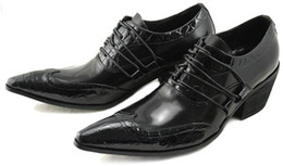 $enCountryForm.capitalKeyWord Canada - 2018 new Japanese Style Fashion dress shoes for men pointed toe Men leather business Shoes Men wedding shoes black 46