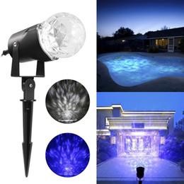 Light projector waterproof online shopping - Kaleidoscope Spotlight Projector Rotating Flame Lightshow Projection Outdoor Christmas Halloween Light Waterproof Garden Landscape Lighting