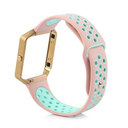 China Silicone Band for Fitbit Blaze, Smart Watch Band, Newest Arrival Sport Style Bracelet Strap, Multi Colors, Small and Large Sizes Available suppliers