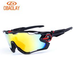 For bike eyewear online shopping - Brand Sport Sunglasses Polarized Cycling Sunglasses For Men Women Gafas Mountain Bike Bicycle Run Eyewear With Lens And Box High Quality