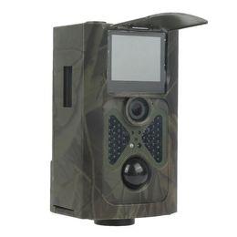 2-дюймовый ЖК-водонепроницаемый 1080P HD PIR дикой природы скаутинг игры Охота Trail камеры DVR с 22 шт. ИК ночного видения светодиодов