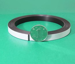 magnet 1.5mm NZ - 10 meters Strip Slef-Adhesive rubber magnet size of 10m(L)*10mm(W)*1.5mm(T);glue rubber magnet strip