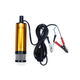 Chinese  12V DC Diese Fuel Water Oil Car Camping fishing Submersible Transfer Pump manufacturers