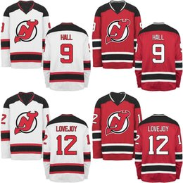 Youth New Jersey Devils Jersey 9 Taylor Hall 13 Nico Hischier 19 Travis  Zajac 40 Blake Coleman 44 Miles Wood Custom Hockey Jerseys 9a9265a2c