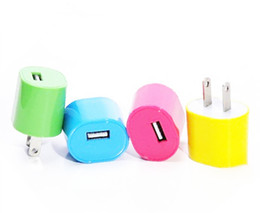 Iphone Micro Usb Adapter NZ - 1A 5W Fast Universal Desktop Travel Wall Single Micro USB Charger USB Adapter For iPhone For Samsung Tablets