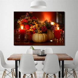 pattern decor Australia - DIY Diamond Paintings Flower & Candle Romantic Decor Picture Pattern Cross Stitch Diamond Paintings Embroidery Cross Home Decoration Unframe