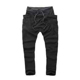 $enCountryForm.capitalKeyWord UK - Wholesale-Men Boy Casual Pants Hot Sale Hip Hop Pants Fitness Clothing Outwear Jogger Sweatpants Fashion Trousers