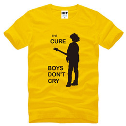 0c6d3f56e New Summer Style The Cure T Shirts Men Cotton Short Sleeve Printed BOYS DO  NOT CRY Man T-Shirt Fashion Rock Roll Hip Hop Top Tee