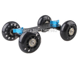 $enCountryForm.capitalKeyWord UK - Free shipping + tracking number Camera black Mini Dolly Car Video Slider Track DSLR For Canon 60d 5D2 7D