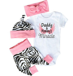 $enCountryForm.capitalKeyWord NZ - Summer Baby Clothing Sets Letter Print Baby Girls Short Sleeve Rompers +Pants+Hat 3Pcs Set Baby Summer Suit Rompers Kids Outfits