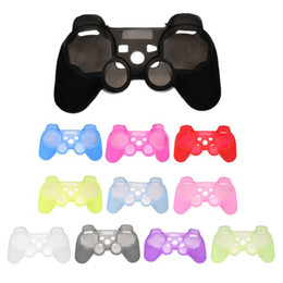 $enCountryForm.capitalKeyWord Australia - For PS3 Gamepad Silicone Cover Rubber Case Gel Protective Cover for Playstation 4 Controller Controle Joystick