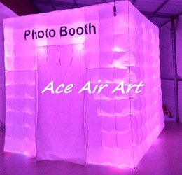 Cabin Lights Canada - customize wonderful lighting inflatable cabin hire photo booth for wedding party event decoration