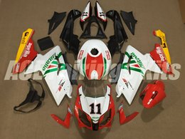 China New Injection Mold ABS Full bike fairing kits for aprilia RS125 2006-2011 RS 125 06 07 08 09 10 11 RS4+Tank cover bodywork set number 11 suppliers
