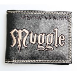 China Harry potter wallet Animated cartoon brand purse Young students personality wallet muggle boys and girls purse DFT-1033 suppliers