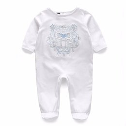 White jumpsuit child online shopping - Baby Rompers Jumpsuits Baby Girls Clothing Children Autumn Newborn Baby Clothes Cotton Long Sleeve Climb Clothes