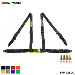 """$enCountryForm.capitalKeyWord NZ - EPMAN- Seat Belts Style Competition 4 Point Snap-In 2"""" Seat Belt Racing Harness safety belt seat harness EPM-02BUC"""