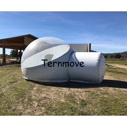 inflatable bubble c&ing tenthalf white half clear globe tentsoutdoor party tents with floorfamily garden projection dome tent  sc 1 st  DHgate.com & Inflatable Family Tents Online | Inflatable Tents Family Camping ...