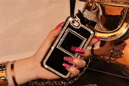 Rhinestone Case For S5 Canada - Rhinestone Perfume Bottle TPU protective case with opp package cover for iPhone 4 4s 5 5s se 6 6s plus samsung s4 s5 s6 note 2 3 4