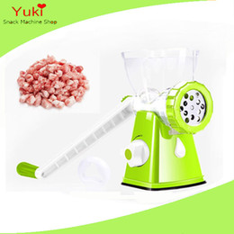 sausage making NZ - manual meat grinder meat mincer plastic garlic ginger chilli grinder sausage stuffer machine ginger garlic paste making machine
