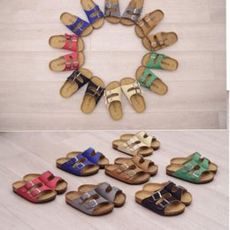 $enCountryForm.capitalKeyWord Canada - Kids Beach Summer Sandles Flip-flops Cork Beach Sandals Antiskid Slippers PU r Slippers Casual Slippers Sandalias 7 color KKA1629