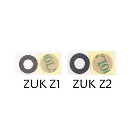 Camera Glue Canada - Wholesale- 1pcs lot Back Rear camera glass lens cover + adhesive glue tape For Lenovo ZUK Z1 Zuk z2