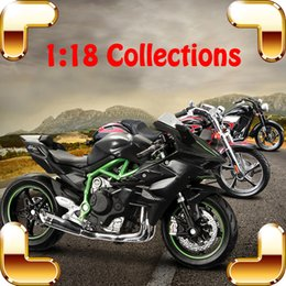 motorcycle collection UK - New Arrival Gift H2R 1 18 Model Motorcycle Car Collection House Decoration Alloy Metal Toys Static Mini Motorbike Friend Present