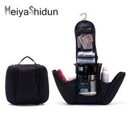 Man bag hook online shopping - Meiyashidun Portable Orgarnizer Shaving Men Travel Bags Deluxe Large Hanging Hook Travel Toiletry Kit Bag Cosmetic Bag Pouch Holder