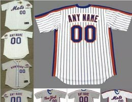 38689c2fc ... clearance 2017 custom mets jersey men custom new york mets majestic  alternate throwback baseball jersey customized