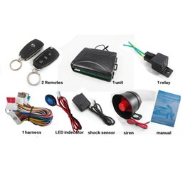 Discount remote starter alarm for car - CA703-8118 One Way Remote Control Car Alarm Systems & Security Key for Toyota CAL_103
