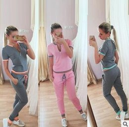 $enCountryForm.capitalKeyWord Canada - 2017 spring and summer Style Sweatshirt Print Tracksuit Women Long Pants Pullover Tops Womens Set Women Sport Suits Women Clothing M88#