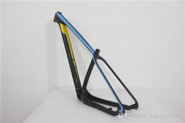 2018 T1000 UD горный MTB карбоновый каркас велосипед bicicleta frameset 27.5er 29er 15,5 17,5 19,5 дюймовый каркас + зажим + гарнитура