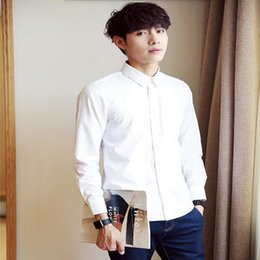 Quality Fiber NZ - Comfortable men shirt fashion handsome leisure shirt tailor made high quality white casual shirt long sleeve shirt