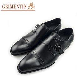 $enCountryForm.capitalKeyWord NZ - GRIMENTIN Fashion designer formal mens dress shoes black men oxford shoes genuine leather buckle hot sale business wedding office male shoes