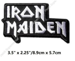 Barato Roupa De Solteira-IRON MAIDEN PATCHES EDDIE BASTANTE ANOS KILLERS LIVRO DE ALMAS BIKER ROCK PUNK DIY Vestuário rockabilly bordado broche emblema Diy patch
