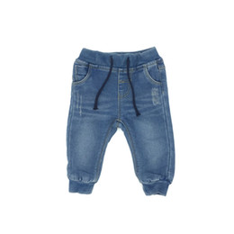 Barato Calças Jeans Calça Jeans-2017 New Baby Boy Jeans Pants Solid Ripped Regular Fit Put on Jeans 4-24Months Children Clothing Kids Trousers