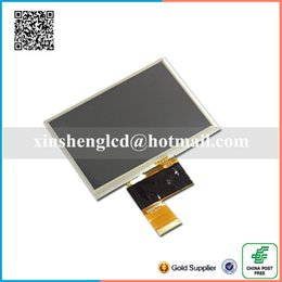 V Gps Canada - Wholesale- 100% original 5 Inch AT050TN33 V1 V.1 32000579-02 LCD with touch screen for GPS Free Shipping