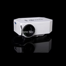mini computer projector 2019 - Wholesale- 2016 New LED mini projector mini home projector with the computer VGA HDMI AV USB SD input connections Free S