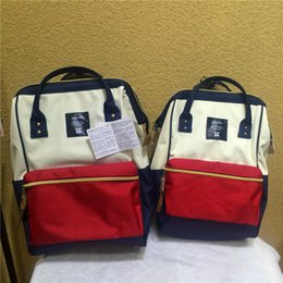 anello backpack bag original backpacks rucksack canvas school bag travel  Kids Children Bag mummy handbags shoulder bags japan DHL Free a4e146d960939