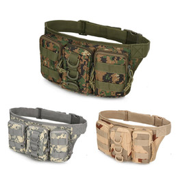 $enCountryForm.capitalKeyWord Canada - Outdoor Molle Gear Waterproof Camouflage Cycling Camping Hiking Mans Waist Bag Sport Pack Message Bag Tactical Military Pouch Bag