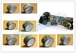 China 10M Camo Wrap Outdoor shooting Bionic Tape Cotton Waterproof Speckle Camouflage Rifle Hunting Stealth Tape Camping Camera fishing tool suppliers