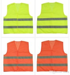 high visibility motorcycle Canada - High Visibility Working Safety Construction Vest Warning Reflective traffic working Vest Green Reflective for Bicycle, Motorcycle