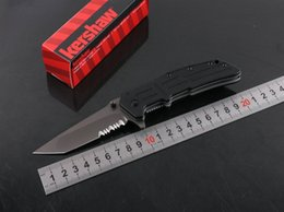 Discount excellent quality knife - Excellent Quality 5cr15mov Blade Tactical Kershaw 3150G Bearing Pocket Knife Folding Tactical Survival Outdoor Gear B285
