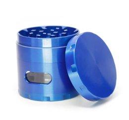 Black Cutters Australia - The new four-layer zinc alloy side window window chamfering smoke cutter diameter 63MM smokers