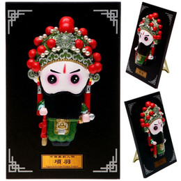 dragonfly cartoons NZ - Type Q version of the opera character cartoon Figurine ornaments creative gift gift business abroad China wind
